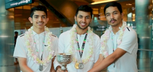 TEAM QATAR WIN THREE MEDALS IN WEST ASIAN MEN'S SQUASH TOURNAMENT