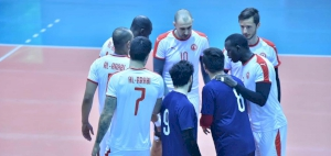 Arabi faces Kuwaiti Kazma in the quarter-finals of the 38th Arab Championship for men's volleyball