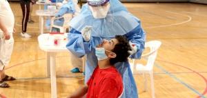Team Qatar athletes take Coronavirus tests