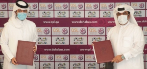 Qatar Stars League signs sponsorship agreement with Doha Bus company