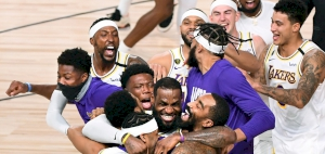 Los Angeles Lakers earn their first championship in 10-years, Lebron wins his 4th ring and Finals MVP