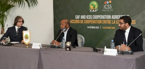 Confederation of African Football (CAF) signs partnership agreement with International Centre for Sport Security (ICSS)