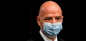 FIFA president Gianni Infantino tests positive for coronavirus and has entered isolation after showing 'mild symptoms'