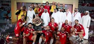 Al-Arabi is the champion of Qatar handball League 2020