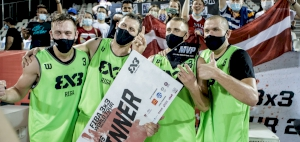 Riga pulls off a come-back win as they defended their FIBA 3x3 title
