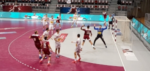 Qatar loses to European Champions Spain in the closing match of the Qatar International Tournament