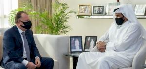 HE Sheikh Joaan bin Hamad meets President of International Judo Federation