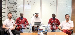 Qatar Volleyball Association and Japanese Chita City Council Hold Virtual Meeting