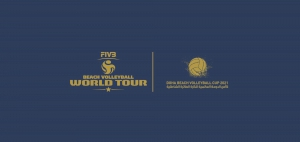 Doha Beach Volleyball Cup 2021, on the starting line