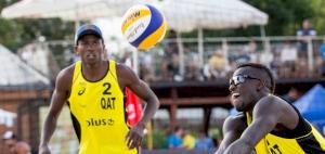 Cherif-Tijan lead Qatar's challenge in Doha Beach Volleyball