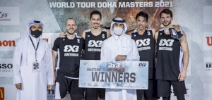 Amsterdam Talent&Pro win first-ever Masters at FIBA 3x3 World Tour Doha Masters 2021