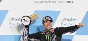 Qatar MotoGP: Vinales passes Ducati quartet to win
