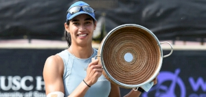 Sharma overcomes Jabeur in Charleston to claim first WTA singles title