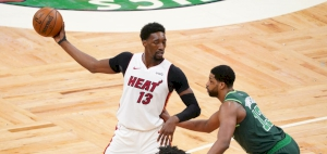 Heat clinch NBA Playoff berth with win over Boston, as the Lakers sink a clutch three for the win in OT