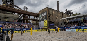 Qatar's Beach Volleyball Team Participates in Ostrava Czech Tour