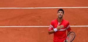 Impressive Djokovic Cruises into French Open Last 16