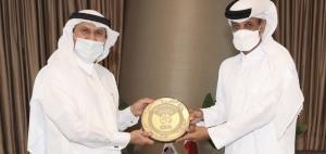 QFA PRESIDENT MEETS SEC-GEN OF QATAR RED CRESCENT