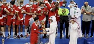 Sheikh Joaan Crowns Al Shamal Champions of Arab Super Cup