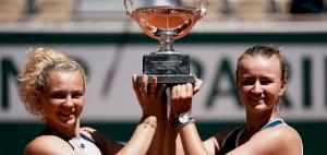French Open Champion Krejcikova Completes Rare Double