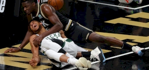 Hawks even ECF series as Giannis exits with injury