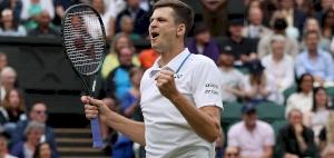 Hurkacz faces 'unbelievable' Federer for Wimbledon semi-final spot
