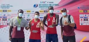 Team Qatar duo qualify to FIVB U21 Beach Volleyball Championships