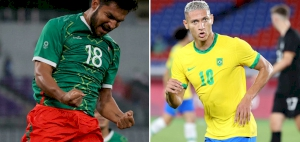 France thrashed by Mexico in Olympic opener as Brazil beat Germany
