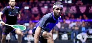 Qatar VS Egypt in Manchester International Squash Open Quarter Finals