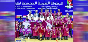 Qatar paddlers continue impressive run at Arab Championships