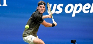 Tsitsipas fired a career-high of 27 aces to secure a second-round win at the US Open