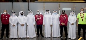 Team Qatar Paralympic champions return home to a warm welcome