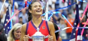 Raducanu creates history after being crowned US Open champion