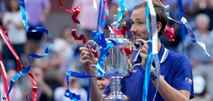 Medvedev completes calendar year with US Open title win against Djokovic