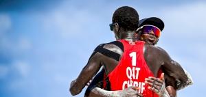 World Tour Finals: Qatar's Beach Volleyball Team Beat Russia