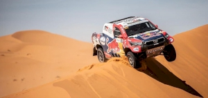 Al Attiyah retains overall lead in Morocco