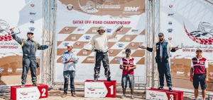 Qatar Off-Road Championship series off to a flying start at Sealine