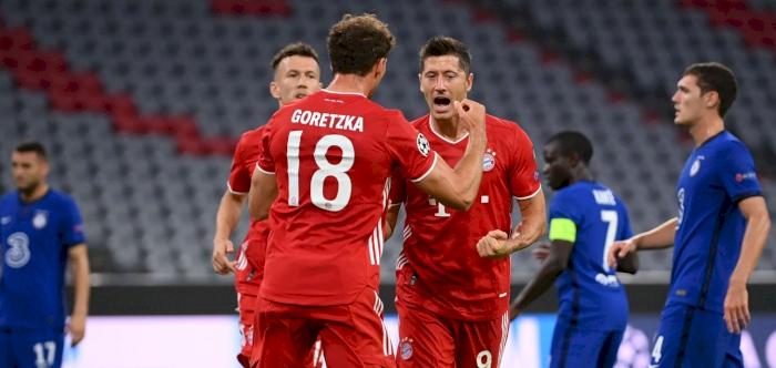 Alkass Digital Bayern Crush Chelsea To Move Into Champions