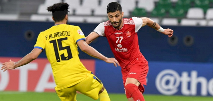 Alkass Digital Acl2020 Group C Persepolis Edge Al Taawoun To Stay On Track