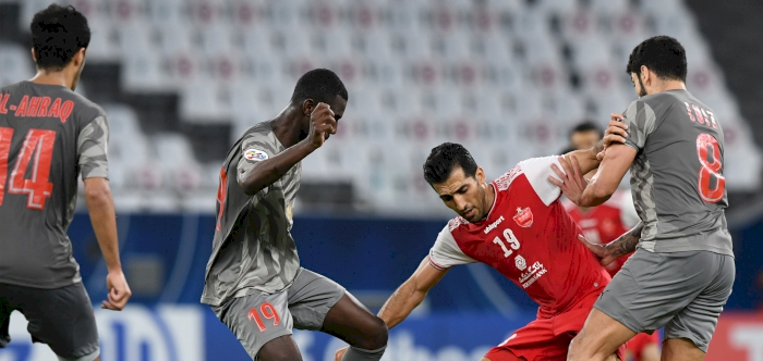 Alkass Digital Al Duhail Edge Persepolis To Get Back On Track In Afc Champions League